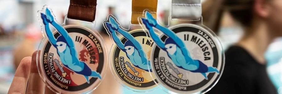 medale pływackie na zamówienie