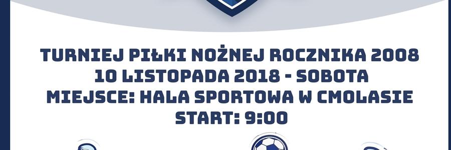 turniej piłki nożnej w Cmolasie