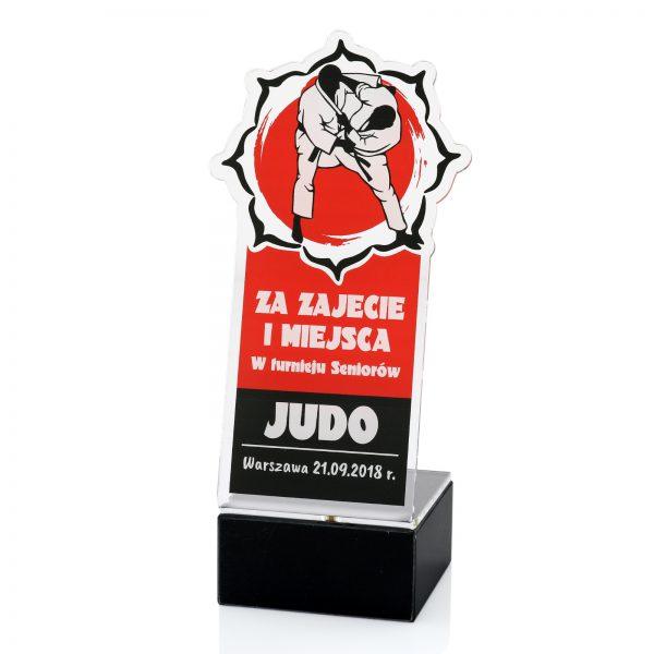 Statuetka judo na indywidualne zamówienie z nadrukiem