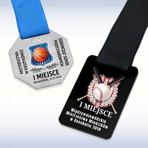 Medale – linia basic