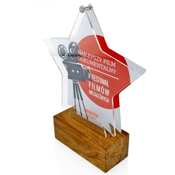 Statuetka w kształcie gwiazdy za najlepszy film na festiwal