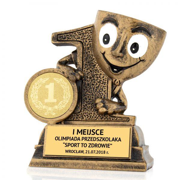 Oryginalna statuetka odlewana na olimpiadę sportową