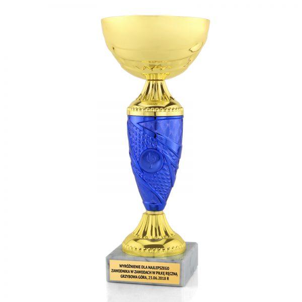 Puchar z dowolnym grawerem na zawody piłki ręcznej