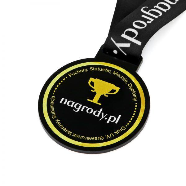 Okolicznościowy medal z pleksi z logo firmy na zamówienie