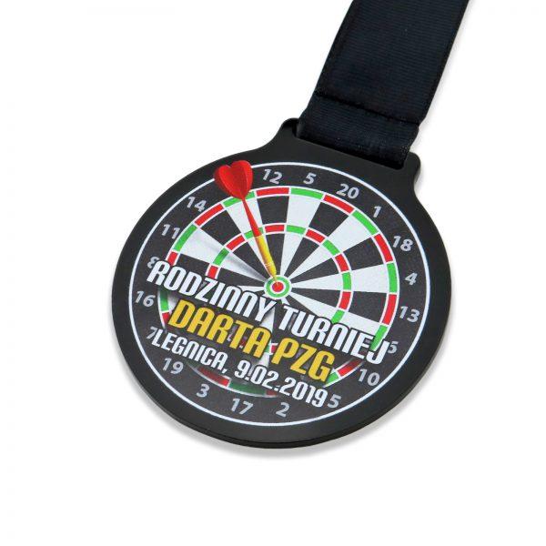 Medal z pleksi na turniej darta