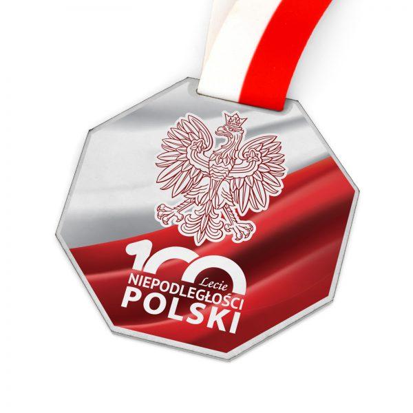 Medal Okolicznościowy na 100-lecie odzyskania niepodległości