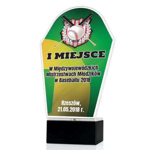 Statuetka na postumencie na mistrzostwa młodzików w baseballu