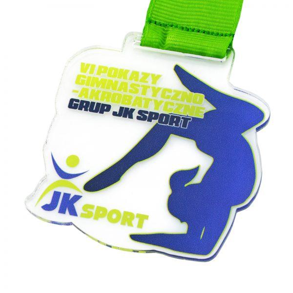 Medal z pleksi na Pokazy Gimnastyczno-Akrobatyczne