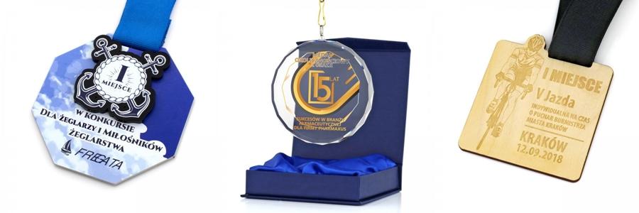 medale na zamówienie z własnym projektem