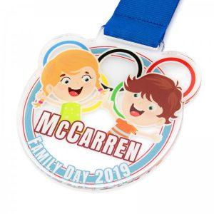 medal z pleksi dla dzieci