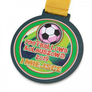 medal metalowy z nadrukiem dla dzieci