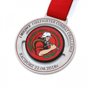 medal metalowy wycinany