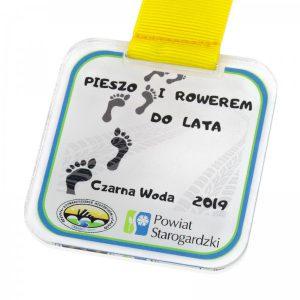medal z nadrukiem kwadratowy dla dzieci