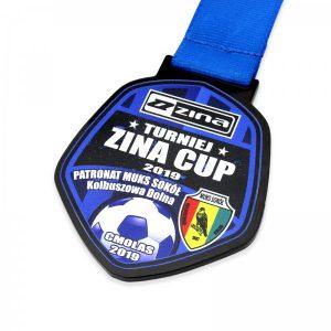 medal z pleksi z kolorowym nadrukiem