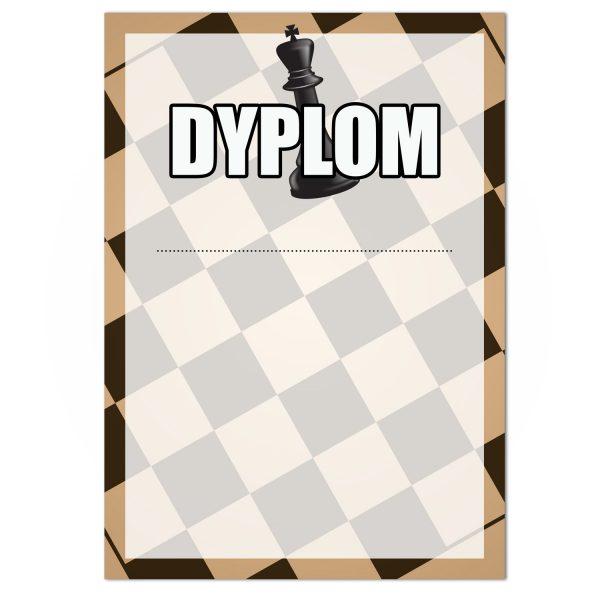 Dyplom sportowy na konkurs szachowy dla zawodników (20 sztuk)