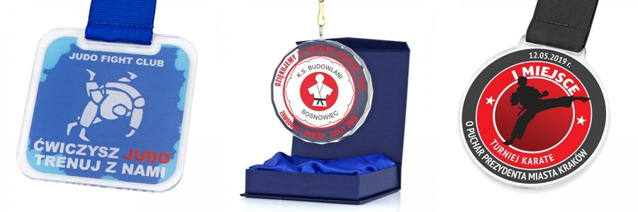 medale za zawody sztuk walki