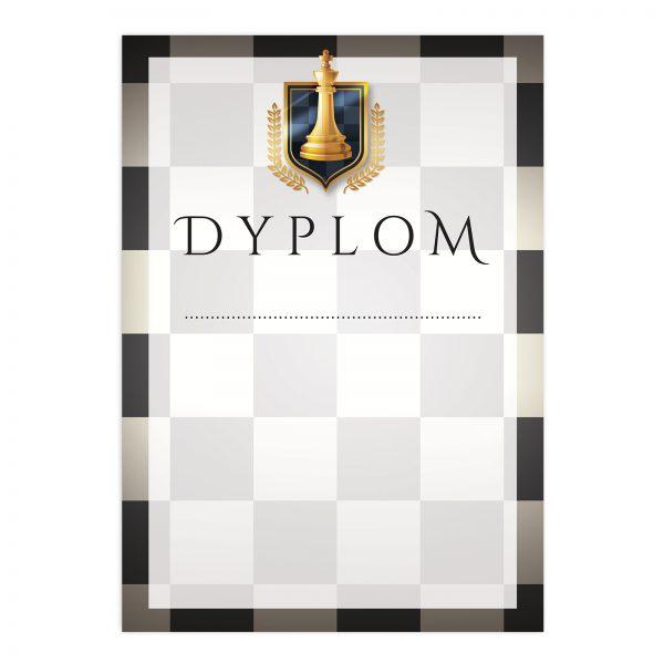 Dyplom okolicznościowy na turniej szachowy dla zawodników (20 sztuk)