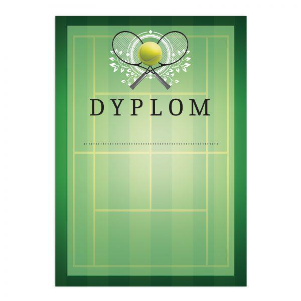 Dyplom papierowy na turniej tenisa ziemnego na zamówienie (20 sztuk)