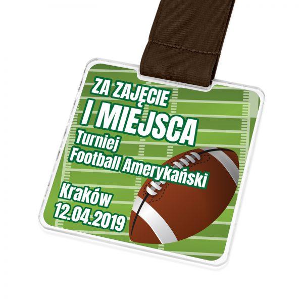 Oryginalny medal na zamówienie na football amerykański