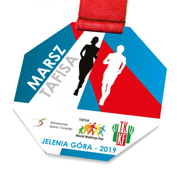 Medal pamiątkowy z metalu na zawody – Marsz Tafisa