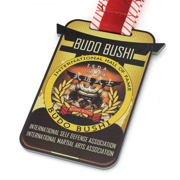 Medal pamiątkowy na zawody Budo Bushi 2020