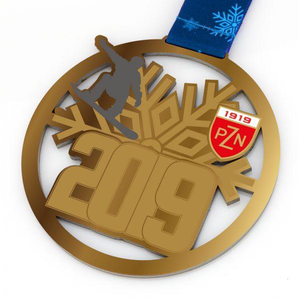 Medal dla snowboardzistów na zawody Puchar Polski PZN